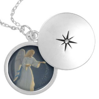 Angel of Abundance Locket