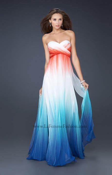 la femme  formal evening prom dress