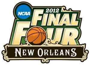 The logo for the 2012 NCAA Final Four tournament.