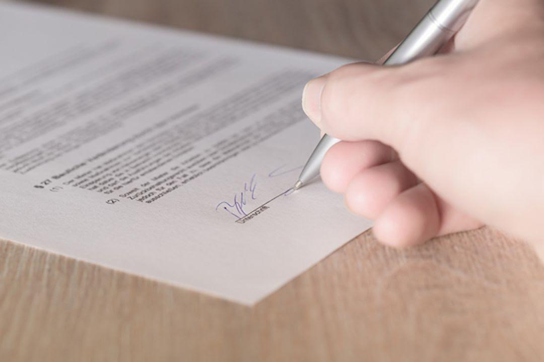 Firma del convenio entre las partes