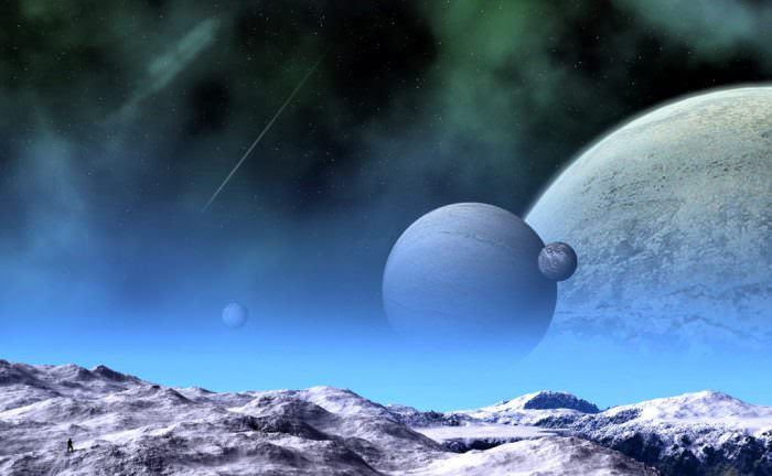 A new study announced the discovery of a system hosting five transiting planets (image credit: jhmart1/deviantart).