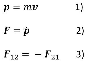 Newton's dynamical equations.