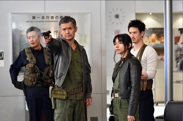 新春ドラマスペシャル「都庁爆破!」長谷川博己、優香、平澤宏々路 (c)TBS