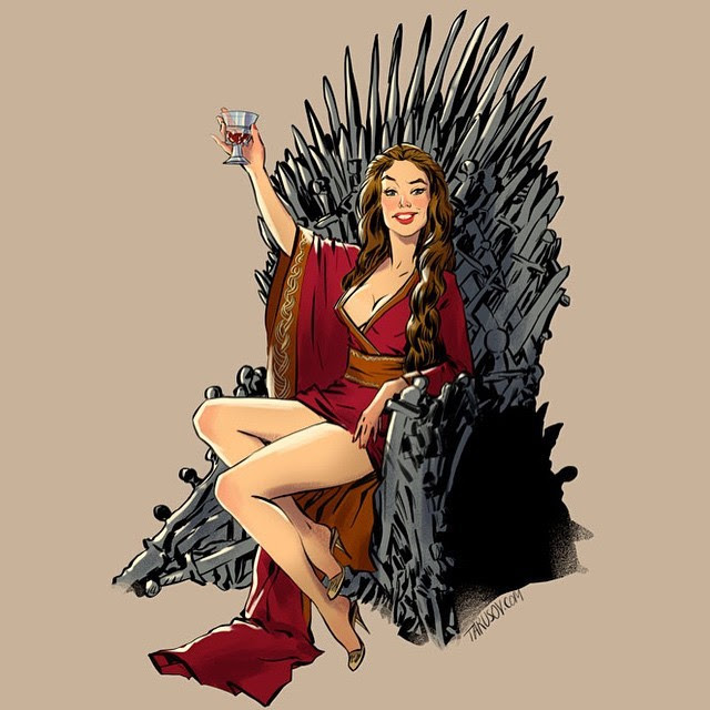 Game of Thrones​ Pin-Ups by Andrew Tarusov