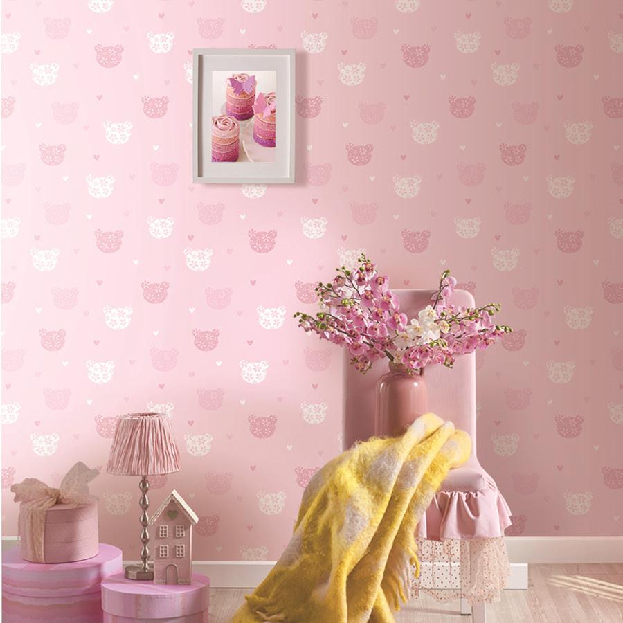 Merah Muda Yang Indah Desain Anyaman Kamar Tidur Wallpaper Untuk Anak Perempuan Buy Wallpaper Untuk Anak Perempuan Pink Wallpaper Kamar Tidur