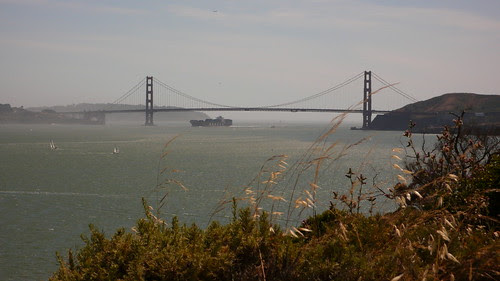 staycation-view of GG bridge from angel island