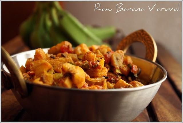 Raw Banana Varuval