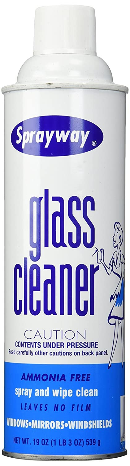 Amazon.com: Sprayway Glass Cleaner Aerosol Spray, 19 oz: Health ...