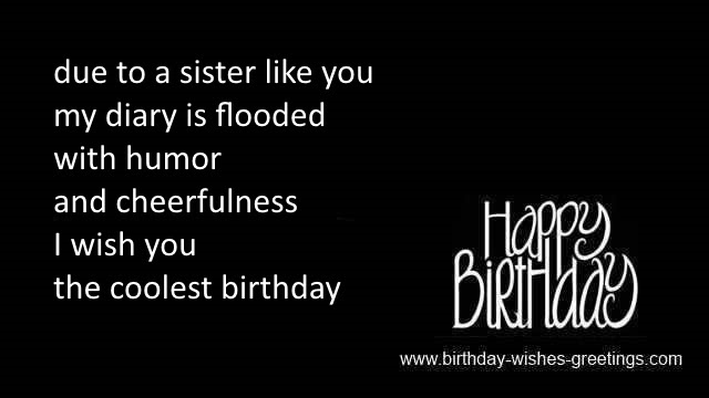 Sister Birthday Greeting And Daughter Or Granddaughter Birthday Wish