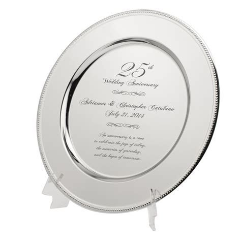 Best and most Popular Silver Anniversary Gift Ideas for