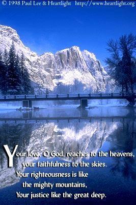 Psalm 36:5-6 (31 kb)