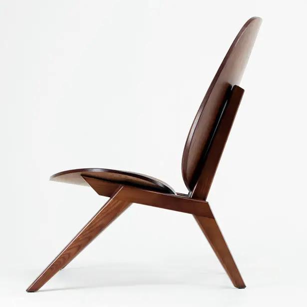 Klassiker Lounge Chair by Minwoo Lee | Tuvie