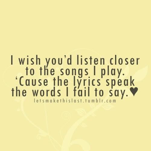 Popular Song Lyrics Quotes. QuotesGram