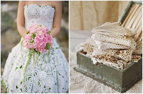 Doily Wedding Accessories: Decor & Ideas   Want That