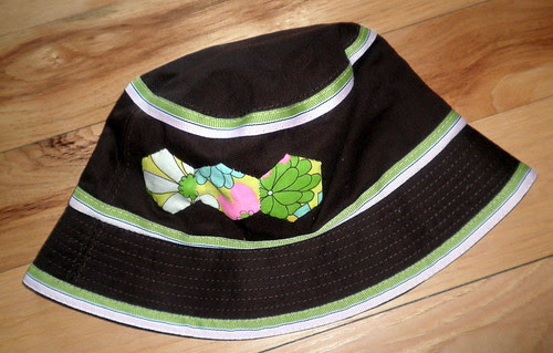 English Paper Pieced Applique to Hat