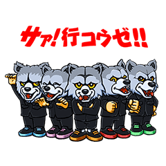 Lineスタンプman With A Mission 40種類 240円