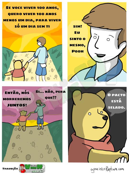 Blog Viiish - Muito cuidado com o urso Pooh