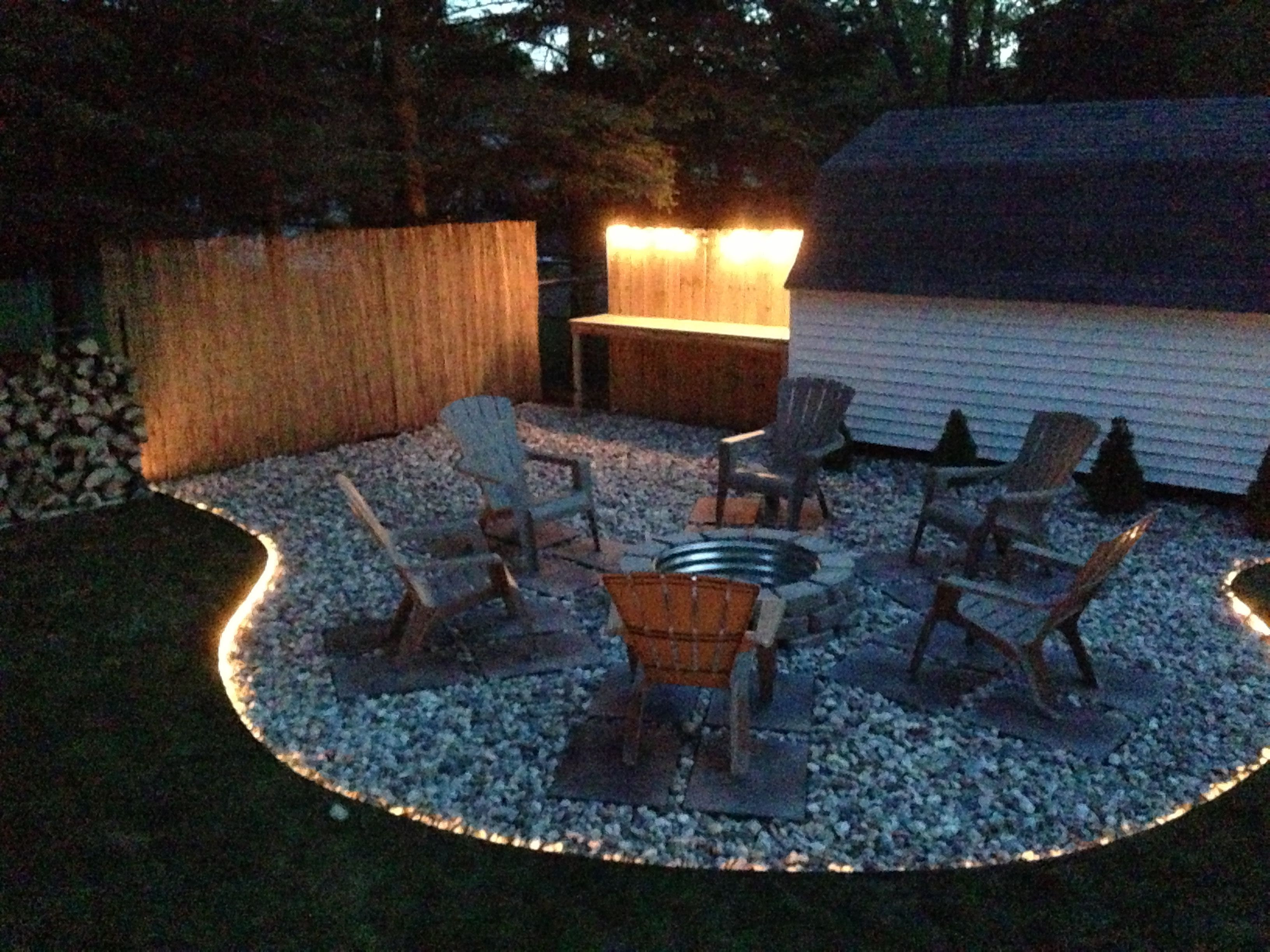 Back Yard Fire Pit Project