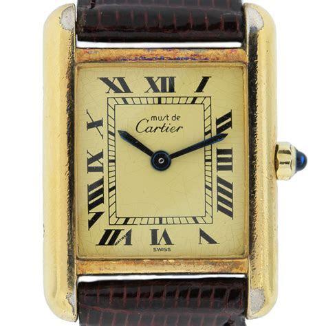Vintage Cartier Tank 925 Vermail Ladies Watch Boca Raton
