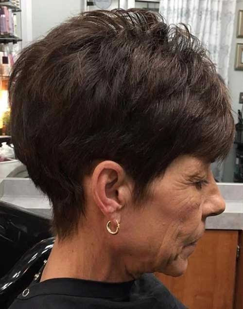Einfache Kurze Frisuren Für ältere Frauen Frisuren Trends 2018
