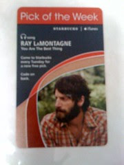 Starbucks iTunes - Ray LaMontagne - You Are The Best Thing