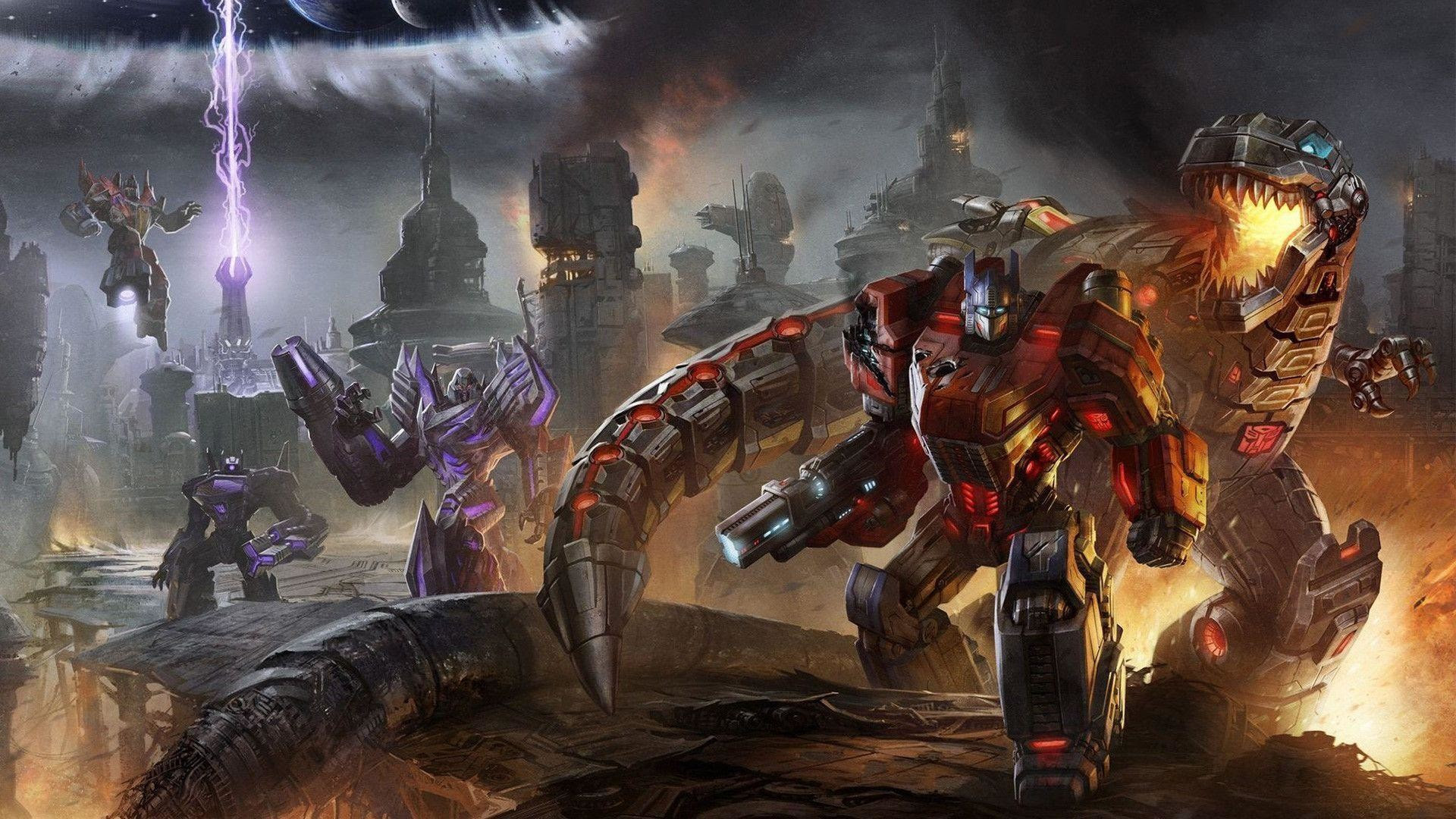 Fall Of Cybertron Wallpaper 80 Images