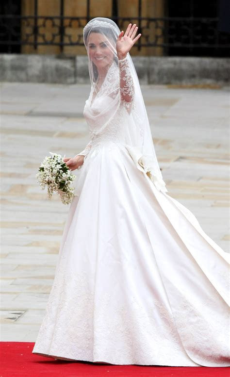 royal wedding: the bride, the dress.