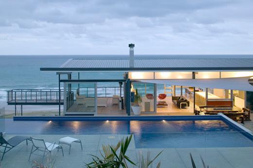 Beachfront Homes   Modern House Designs