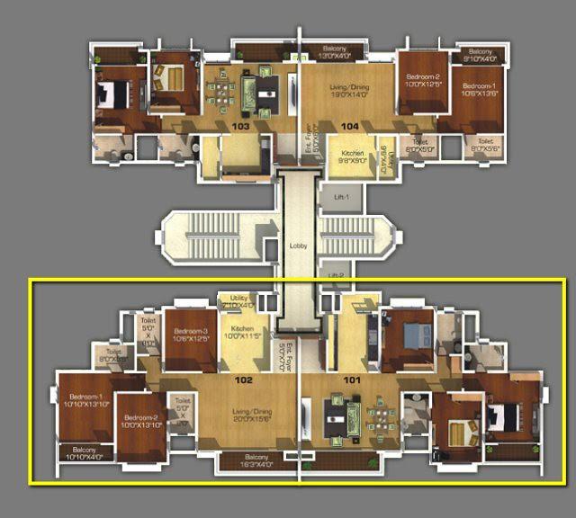 21 Story  D & F Sangria Towers Megapolis Hinjewadi Phase 3