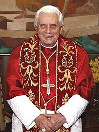 FELIZ ANIVERSÁRIO PAPA BENTO XVI