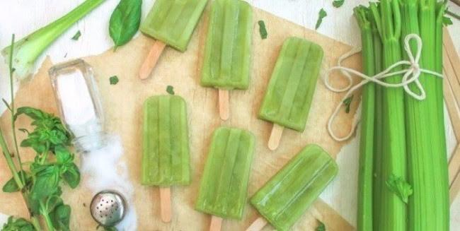 Сельдерей + базилик мороженое, рецепты