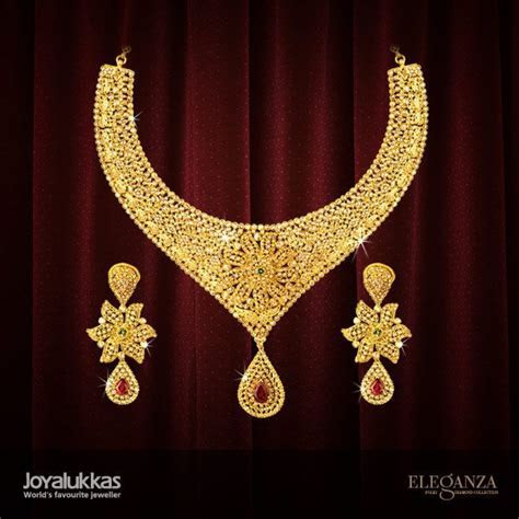 ELEGANZA SETS   Joyalukkas   Jewels   Pinterest   Indian