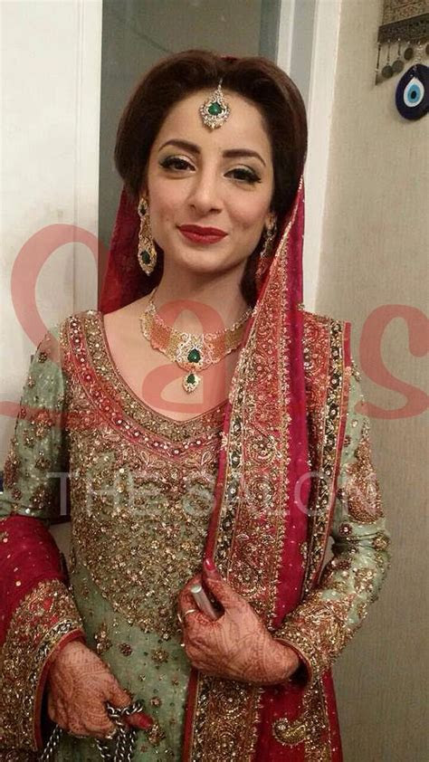 Sarwat Gillani wedding   makeup by Qadir at Sabs Salon