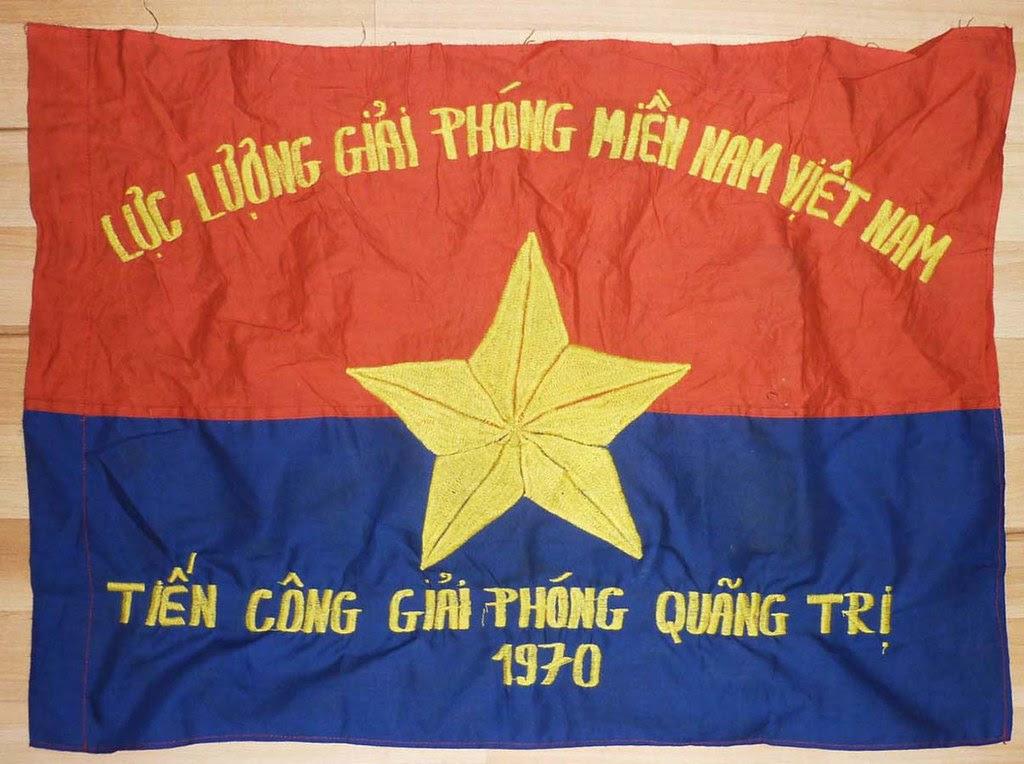 Flag 1970 Quang Tri Nlf Vc Special Forces Vietnam