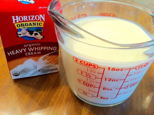 Heavy Cream for Frosting