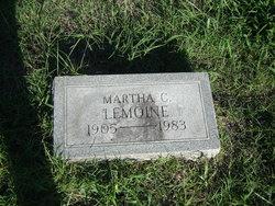 Mrs Martha C Lemoine
