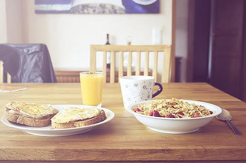 Breakfast, a good days start!