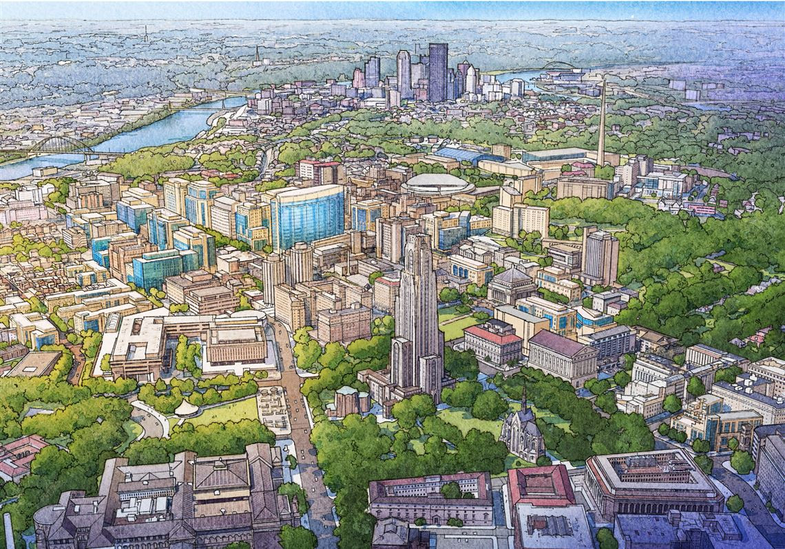 Pitt to unveil 2-step master plan, envisions 'transformative academic facility'