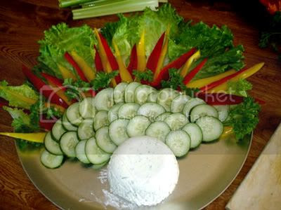 Vegetable turkey recipe