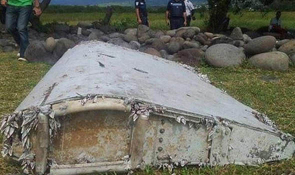 Part of wing thought to belong to MH370