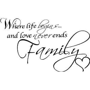 The Whole Life Never Endless Love To My Family Life Love For