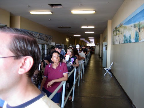 Waiting to Vote