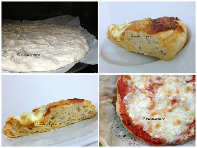 pizza ad alta idratazione con lievito madre