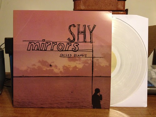 Shy Mirrors - Sailed Blanks LP - Clear Vinyl