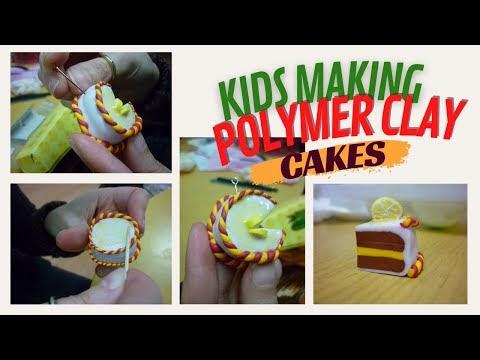 Παιδικό εργαστήρι : τούρτες από πολυμερικό πηλό (fimo)