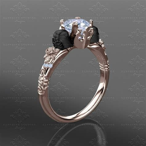 'Prevail' 1.35ct Rose Gold Inspired Star Wars Engagement Ring