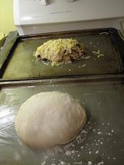 Potato bread rising