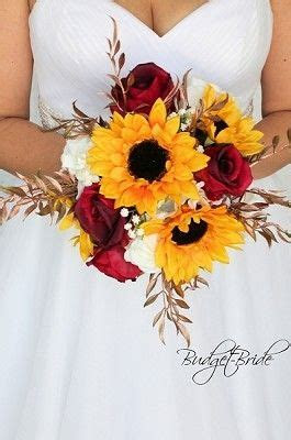 Simple wedding flower fall brides bouquet with wine roses