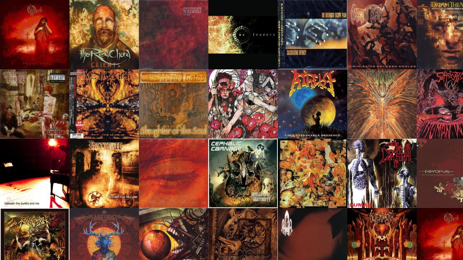 Dream Theater Tiled Desktop Wallpaper