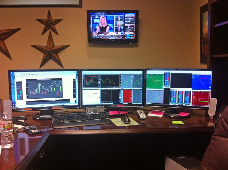 Wall Street Trading Desks - Business Insider